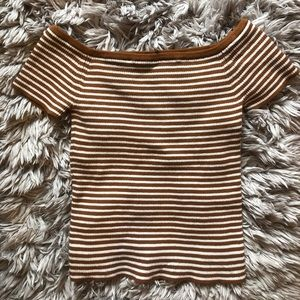 Off the shoulder Madewell Top